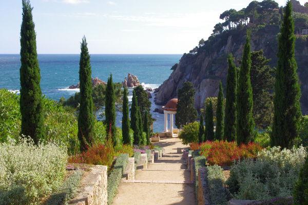 Càmping Voramar, Blanes, Costa brava. Jardins de Marimurtra.